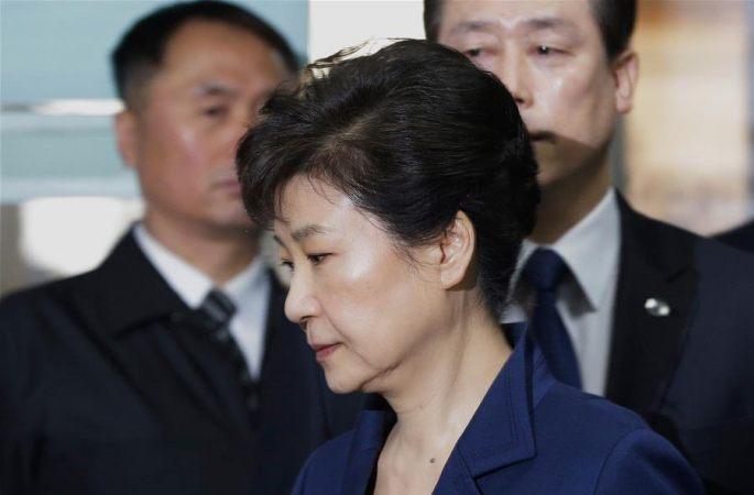 한국 검찰, '18개 혐의' 박근혜 전 한국 대통령 기소