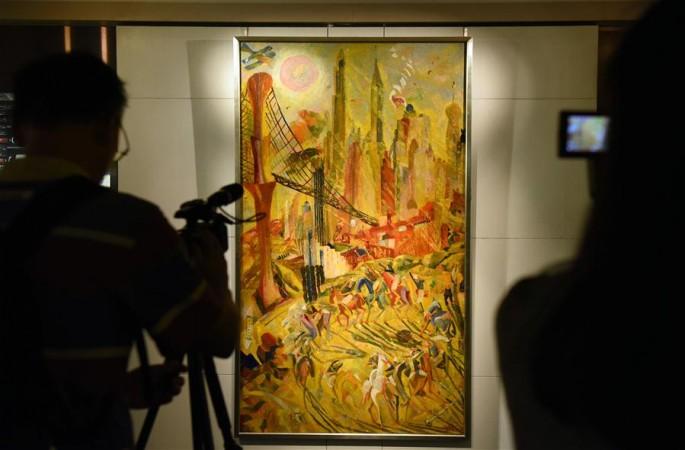 홍콩 소더비, 이번 추계 경매서 평가가 가장 높은 현대 유화 작품 공개