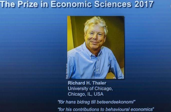 美 경제학가, 2017년 노벨경제학상 수상