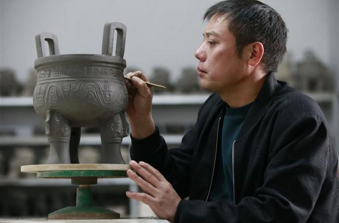 허난'여자(汝瓷)의고향'도자기 산업,발전빠른발전단계진입
