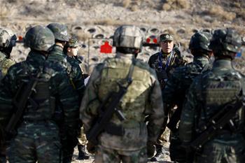 중국-러시아 '협력-2017' 합동 반테러 훈련 연합 훈련 단계 진입