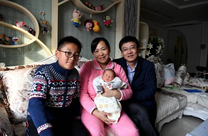 '치링허우(70後)' 부부의 둘째 아이 이야기