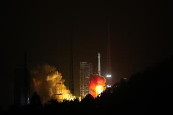 중국, GPS 항법위성 베이더우3호 2기 성공리에 발사
