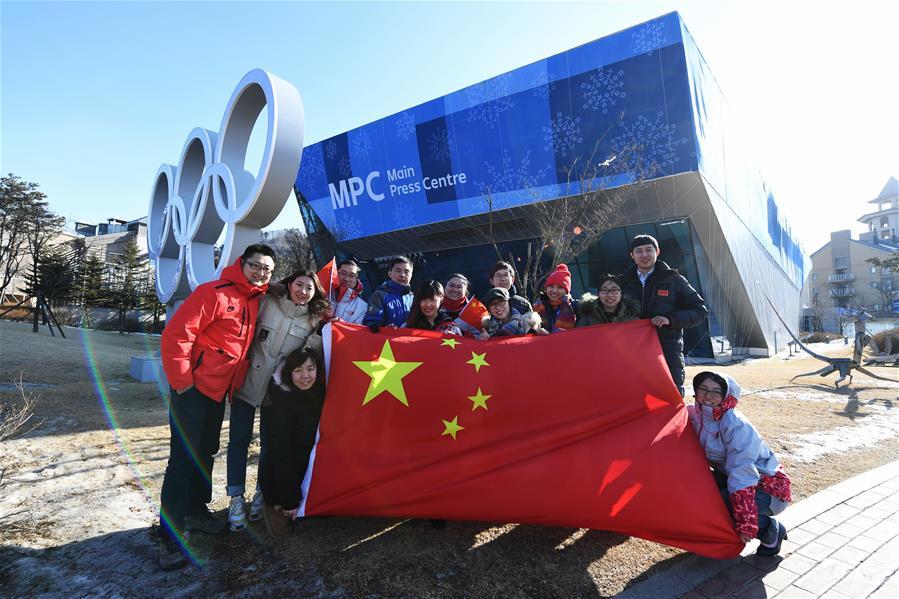 중국 동계올림픽 운영 맴버들의 평창 타임