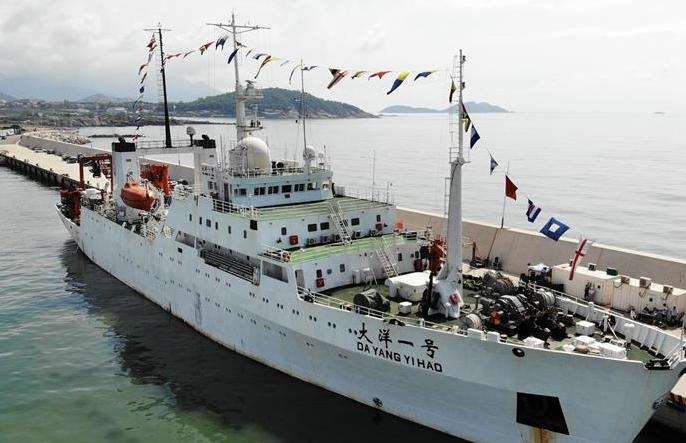 '다양1호' 출항, 중국 대양 제48차 과학탐사 임무 집행