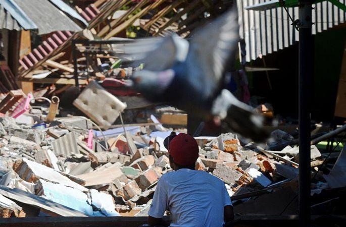 인도네시아 롬복섬 지진으로 인한 사망자 105명에 달해