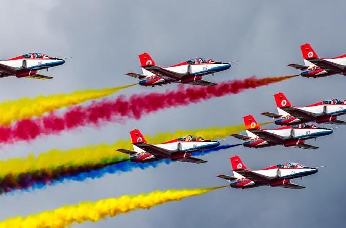 공군, '하늘에서 쫓는 꿈'을 주제로 항공 오픈의 날 행사 거행